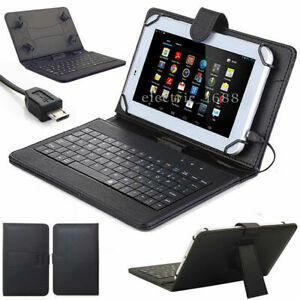 Slim Leather Case Cover Stand Keyboard USB 2.0 For Alcatel Joy Tab 2 8 NEW $13.99