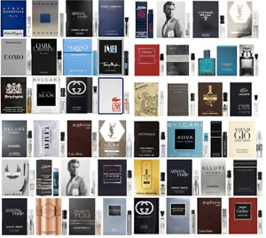 Men Perfume Samples Fragrance Designer Choose Your Own Combined Shipping $14.95