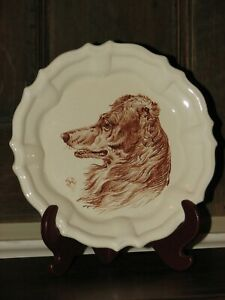 WEDGWOOD 19th CENTURY REAL PIECE OF ART HAND PAINTED COLONEL HENRY HOPE CREALOCK $575.00
