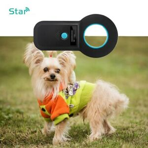 ABS USB2.0 General Digital Pet ID Reader USB Rechargeable for Dog Identification $43.73