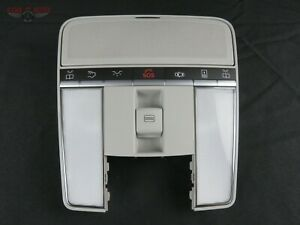 Mercedes Benz S550 Overhead Map Lamp Dome Light Sunroof Gray 09 13 A2218705693 $300.00