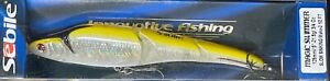"""Sebile Magic Swimmer 125 SK 5"""" Slow Sinking Discontinued HOLOGRAPHIC CHARTREUSE"""