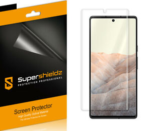 2X Supershieldz Clear Full Cover Screen Protector for Google Pixel 6 Pro