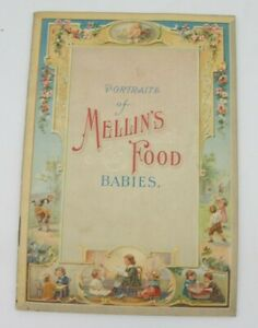 Antique Portraits of Mellin#x27;s Food Babies Advertising Booklet $19.99