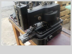 Industrial Sewing Machine Singer 175 61 button sewertack with extras $275.00