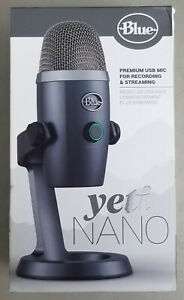Blue Microphones Yeti Nano USB Condenser Microphone For Recording amp; Streaming