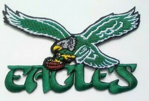 Philadelphia Eagles Embroidered 3 7 8quot; Iron On Patch