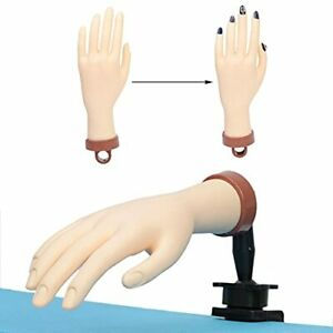 Acrylic Trainning Hand Practice Hand for Acrylic Nails Mannequin Hand for Nai... $16.92