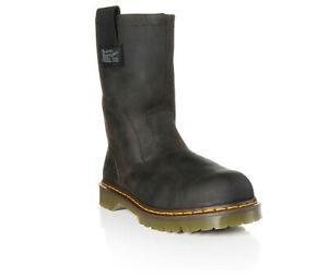 MENS DR. MARTENS INDUSTRIAL ICON WELLINGTON 2295 STEEL TOE WORK BOOTS $98.00