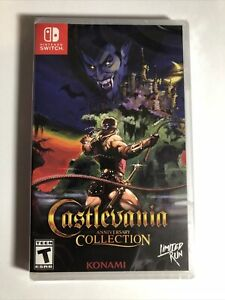 Castlevania Anniversary Collection Nintendo Switch IN HAND Brand New Limited Run $64.00