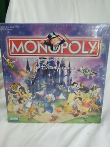 Disney Edition Monopoly 2001 Parker Brothers HasbroBoard game NEW $40.00