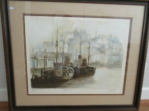 John Kelly Art Portmadoc Numbered and signed Lithograph $200.00