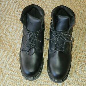 Dexter 24 7 Work black Steel Toe protective boots required safety boot Size 13