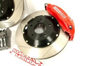 STOPTECH FRONT BIG BRAKE KIT BBK FOR 08 G37 COUPE 6P380
