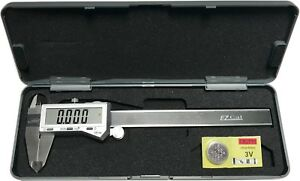 6quot; Digital Electronic Caliper Fractional 3 Way LCD Stainless EZ Cal By iGaging $25.75