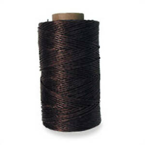 Tejas Brown Waxed Polyester Thread 132 Yard Spool 1220 02 by Tandy Leathercraft $12.19