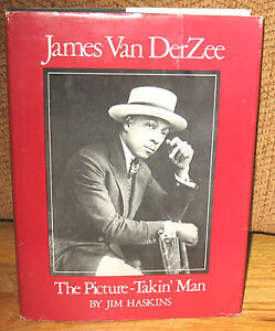 SIGNED James Van DerZee VanDerZee Van Der Zee The Picture Takin Taking Man DJ HC