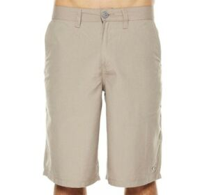 Oakley Coaster Shorts New Khaki Size 34 Mens Casual Golf Chino Cargo Walkshorts