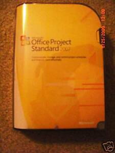 Microsoft Office Project Standard 2007 SKU 076-03745 Full Retail Version