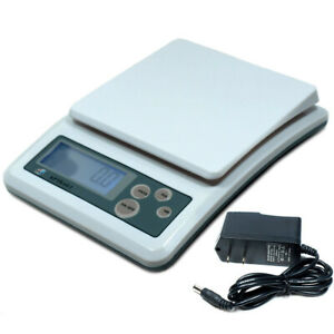 3000g x 0.1g Precision Digital Scale for Jewelry Kitchen Shipping Parts Counting $23.32