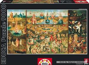 9000 pcs jigsaw puzzle: Bosch - The Garden of Earthly Delights (Art) - EDUCA