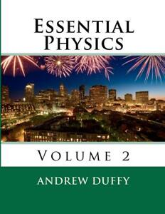 Essential Physics, Volume 2 by Andrew Duffy (English) Paperback Book Free Shippi