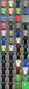 Wholesale Lot New Abercrombie & Fitch A&F Mens (Lot of 10) Muscle Fit  T-Shirt
