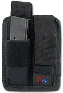 DOUBLE MAGAZINE POUCH FOR HI-POINT C-9, .380, 9MM BY ACE CASE - USA MADE