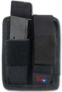 PISTOL MAG MAGAZINE POUCH HOLSTER FOR M9, 1911, 9MM, 45 ACP BY ACE CASE - USA