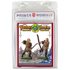 Fantasy Armies Metal Casting Elves 32mm Prince August moulds  molds PA622