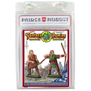 Fantasy Armies Metal Casting Elves 32mm Prince August moulds  molds PA623