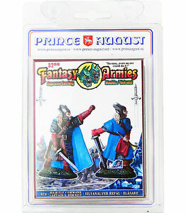Fantasy Armies Metal Casting Elves 32mm Prince August moulds  molds PA624