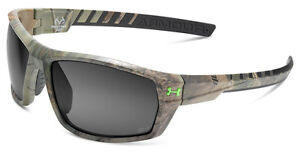 UNDER ARMOUR Ranger Realtree Sunglasses w Gray Storm Polarized Lens + Hard Case