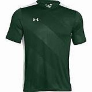 Under Armour WomensUA Soccer JerseyLoose-TopsHeat GearGreen Size- XL