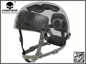 Airsoft Combat Helmet Dial Liner Kit Fit for Ops Core FAST MICH Helmet Black