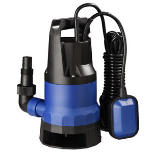 1HP 3432GPH 750W Submersible Water Sump Pump Dirty Clean Swim Pool Pond Flood