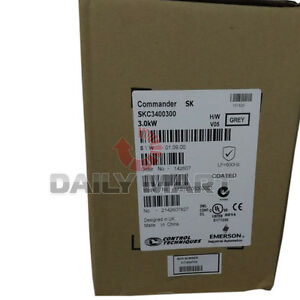 Brand New Emerson SKC3400300 Industrial Automation AC Control Inverter 3KW380V