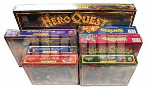 heroquest 6 expansion box all sealed