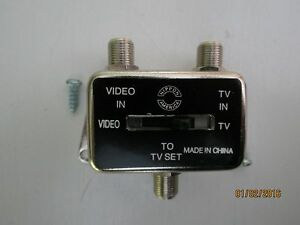 TV Antenna video Signal Selector Switch NEW