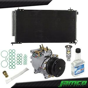 New Major AC Repair Kit Compressor Condenser for 02-06 Honda CRV CR-V AC 2.4L