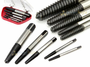 5Pc Screw Extractor Set Easy Out Drill Bits guide Broken Screws Bolt Remover $7.95