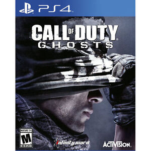 Call of Duty: Ghosts for PlayStation 4 PLAYSTATION 4 PS4 Action Adventure $11.61
