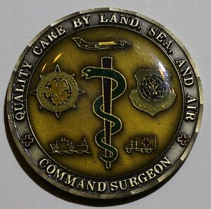 Command Surgeon ser#61 Air Force Challenge Coin