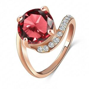 ColorfulJewelry Size 7 8 Gorgeous Women Fashion Ring cubic zirconia 8