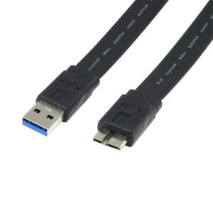 USB 3.0 A to Micro B Data Transfer Power Cable for External Hard Drives Samsung GBP 2.75