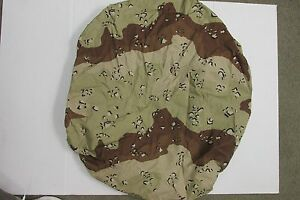 NOS US MILITARY 6 COLOR CHOC CHIP DESERT CAMO ALICE PACK JEEP SPARE TIRE COVER