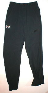 NWT Mens Under Armour Training Pants New S Gray Dark Loose Cold Gear Capital UA