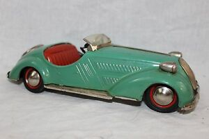 d3150 bmw roadster wind up tin litho toy germany 4