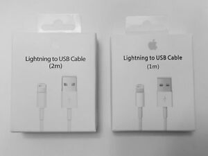 New Apple Lightning Cable USB Cable Charger iPhone X 8 7 6S Plus 5 SE 1 2M 3 6FT $9.99