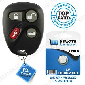 Replacement for Buick LeSabre Park Avenue Cadillac Remote Car Keyless Key Fob $12.97